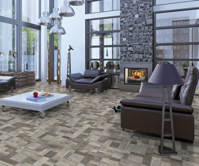 Blocks Grigio by CERAMICA MEDITERRANEA